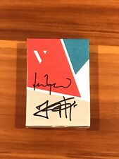 Virtuoso - Spring/summer 2015 - Playing Cards Deck. - Signed by all Virts !!
