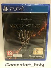 THE ELDER SCROLLS ONLINE MORROWIND + DISCOVERY PACK - PS4 - NUOVO NEW SEALED PAL
