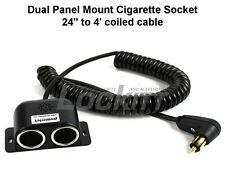 PAC-031 Powerlet (BMW) motorcycle plug to Dual Cigarette socket 24 inch to 4FT