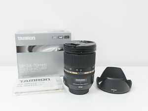 Tamron 24-70mm F2.8 DI VC USD Lens for Canon ~Excellent Condition