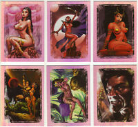 Warlord of Mars Trading Cards ~ MARTIAN MASTERPIECES 6-Card Insert Set MM1-MM6
