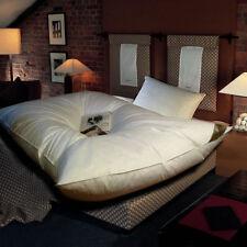 Ballonbett Feder-Bett 135x200 Winter-Decke 100% weiße Gänsefedern 3000g Oberbett