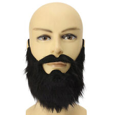 New Fancy Fake Beards Party Black Moustache Christmas Party Cosplay Costume