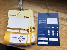 50 X Fuchs ölzettel Maintenance remorque inspection mot Vidange Service