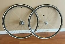 Mavic Open SUP Ceramic Wheelset - Campy Record Hubs and Cassette - Michelin Tire