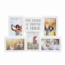 Collage Photo Frame With Metal Words - Home