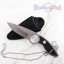 12_006  Einhandmesser, Neck Knife, Linda Silver,Nylon Scheide,Jagdmesser,Messer