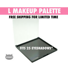 DIY Empty Magnetic Makeup Palette L Strong Plastic Fits 25 Eyeshadows