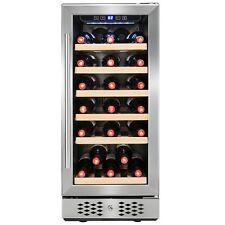 30 Bottles Single Zone Compressor Freestanding Wine Cooler Refrigerator Chiller