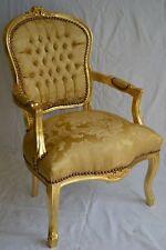 Fauteuil de style Louis XV doré nouveau modèle