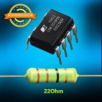 Reparaturset - LNK305PN + Widerstand 22 Ohm 3 Watt, AEG, Whirlpool, Bauknecht...