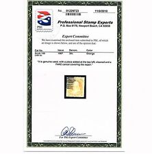 GENUINE SCOTT #100 USED 1867 ORANGE CLEAR F-GRILL PSE CERT AFFORDABLE  SCV $1000
