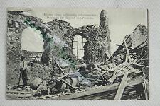 AK PC CP WKI,WWI,GMI,Westlicher Kriegsschauplatz,Ruinen,Dorf Nähe Peronne,neu