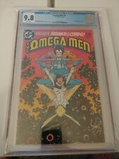Omega Men #3 1983 DC Comics 1st Appearance of Lobo CGC 9.8 WHITE PAGES WP!!