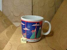 You're Love Takes Me To New Heights Coffee Mug, Russ Berrie & Co. (Used/EUC)