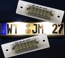 TOP LED Kennzeichenbeleuchtung VW T5 T6 Passat 3C B6 Touran Golf Caddy  7403ww