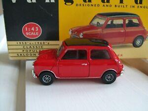Vanguards Mini Cooper Red Enfield RARE
