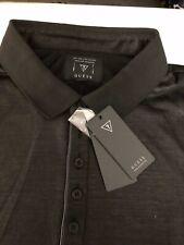Guess T Shirt, Black, Size XLarge Button-Up