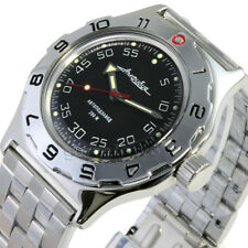 MEN'S WRIST WATCH DIVING RUSSIA VOSTOK  AMPHIBIAN MECHANICAL 100654* NEW