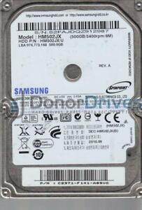 HM502JX, HM502JX/U, FW 2AC101C4, Samsung 500GB USB 2.5 Hard Drive