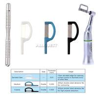 Dental Orthodontic Interproximal Enamel Reduction IPR Automatic Strip+ Handle