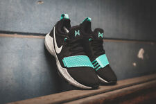size 40 f8e43 fb6f8 Nike PG 1 Basketball Shoes Paul George Black Bone Aqua 878627-002 DOUBLE  BOXD
