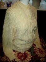 Vintage ladies knitted cardigan