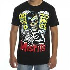 MISFITS ASTRO ZOMBIES SKULL BLACK MUSIC BAND GOTH FIEND MENS T TEE SHIRT S-2XL