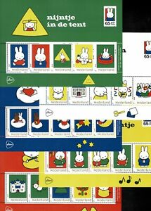 Netherlands MNH N October 2020  new issue Miffy 5 different sheets. Great Offer