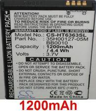 Batterie 1200mAh type 35H00127-05M BB00100 Pour HTC A3333