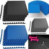 Foam Exercise Mat Interlocking Gym Floor Tiles 24-144 Sq. Ft. Flooring Foam Pads