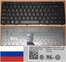 CLAVIER QWERTY RUSSE DELL 15 1535 1536 1537 NSK-DC00R 0WT718 WT718 Noir