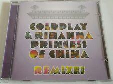 Coldplay & Rihanna - Princess of china. Remixes (Maxi-Single, Promo, 11 tracks)