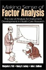 Making Sense of Factor Analysis: The Use of Factor Analysis for Instrument Devel