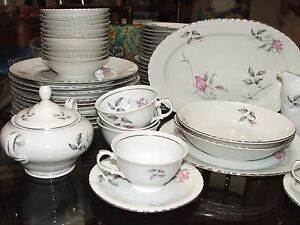 Royal Bohemian Fine China Magnificent Dinner for 12