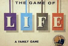 THE GAME OF LIFE - ORIGINAL PARTS  - MONEY - CARS - CARDS - SPINNER - 1960