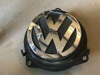 """09-12 VW PASSAT CC REAR TRUNK """"VW"""" EMBLEM RELEASE SWITCH HANDLE 3C5827469J E3"""
