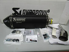 EXHAUST AKRAPOVIC Slip-on Muffler Black  YAMAHA X-MAX 125 08-17