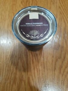 WoodWick Vanilla Gourmand Dancing Glass Candle Glows 7. oz /198.4g