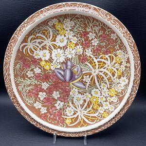 "Vintage VERNON KILNS LEI LANI DON BLANDING HILO ALOHA Dinner Plate 10-1/4"""