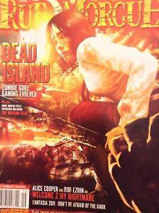 Rue Morgue Magazine Dead Island Alice Cooper September 2011 121417nonrh