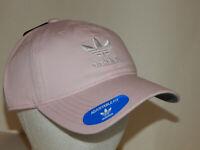 Adidas Originals Strapback Hat / Cap Trefoil Unisex Clear Pink / White CJ7569