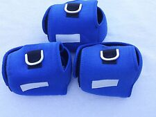 3 CUSTOM REELCOVER SIZE MN FOR ACCURATE BX500N AVET MXJ DAIWA SHIMANOREEL BLUE