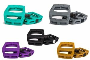 "MERRITT BMX - P1 BMX BIKE PEDALS - 9/16"" - PRIMO CULT SUNDAY FIT KINK"