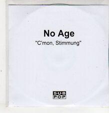 (ER379) No Age, C'mon, Stimmung - DJ CD