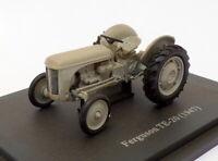 Hachette 1/43 Scale Model Tractor HT076 - 1947 Ferguson TE-20 - Grey