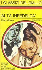 ALTA INFEDELTA' - ELLERY QUEEN