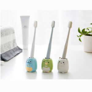 Kawaii Ceramic Bathroom Toothbrush Holder Toothpick Holder Pen Holder Storage SG