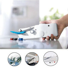 Hand Held Sewing Machine Mini Cordless Portable Electric Stitch Fabric Battery