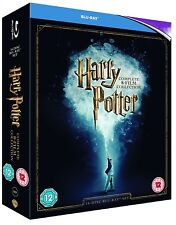 HARRY POTTER 1-8 2001-2011: COMPLETE 7 STORIES/8 MOVIES - 16x Rg Free BLU-RAY